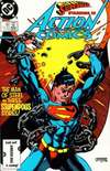 Action Comics #580 comic books - cover scans photos Action Comics #580 comic books - covers, picture gallery