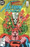 Action Comics #582 comic books - cover scans photos Action Comics #582 comic books - covers, picture gallery