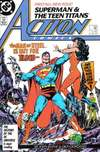 Action Comics #584 comic books - cover scans photos Action Comics #584 comic books - covers, picture gallery