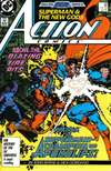 Action Comics #586 comic books - cover scans photos Action Comics #586 comic books - covers, picture gallery