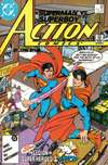 Action Comics #591 comic books - cover scans photos Action Comics #591 comic books - covers, picture gallery