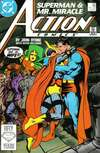Action Comics #593 comic books - cover scans photos Action Comics #593 comic books - covers, picture gallery