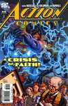 Action Comics #849 comic books - cover scans photos Action Comics #849 comic books - covers, picture gallery