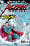 Action Comics #874 comic books - cover scans photos Action Comics #874 comic books - covers, picture gallery