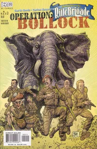 Adventures in the Rifle Brigade: Operation Bollock #2 Comic Books - Covers, Scans, Photos  in Adventures in the Rifle Brigade: Operation Bollock Comic Books - Covers, Scans, Gallery