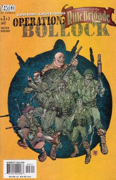 Adventures in the Rifle Brigade: Operation Bollock #3 comic books - cover scans photos Adventures in the Rifle Brigade: Operation Bollock #3 comic books - covers, picture gallery