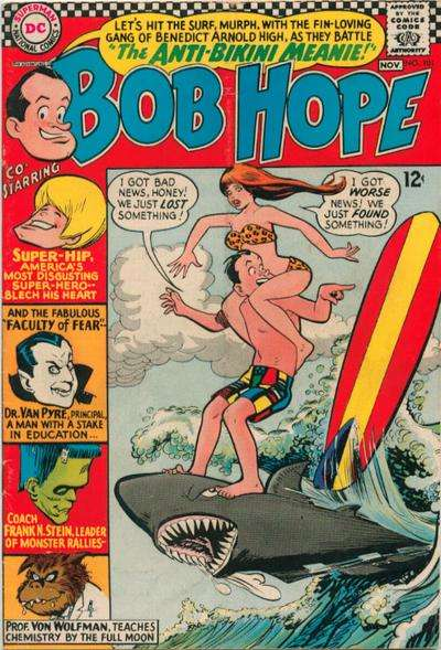 Adventures of Bob Hope #101 comic books for sale