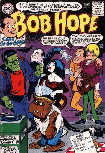 Adventures of Bob Hope #95 comic books for sale