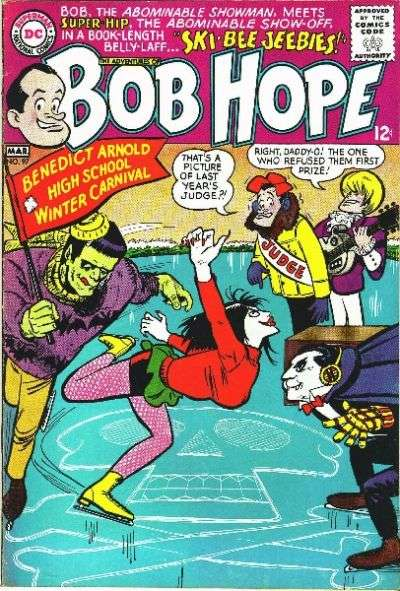 Adventures of Bob Hope #97 comic books - cover scans photos Adventures of Bob Hope #97 comic books - covers, picture gallery