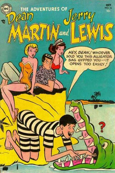Adventures of Dean Martin and Jerry Lewis #16 comic books for sale