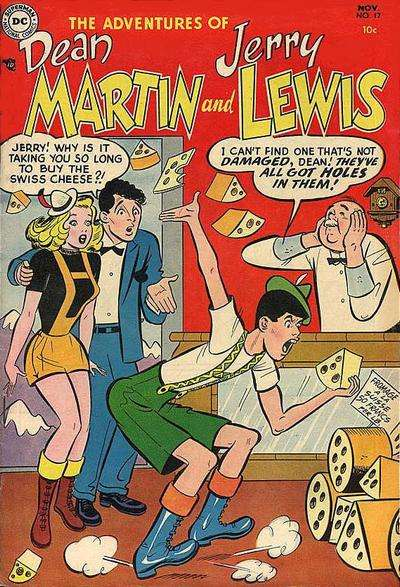 Adventures of Dean Martin and Jerry Lewis #17 comic books for sale