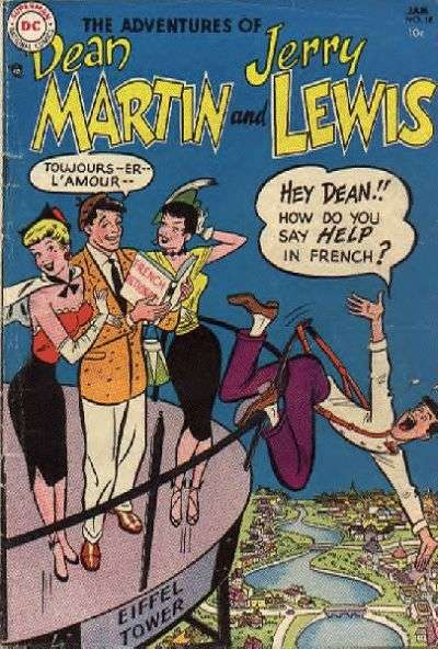Adventures of Dean Martin and Jerry Lewis #18 comic books for sale