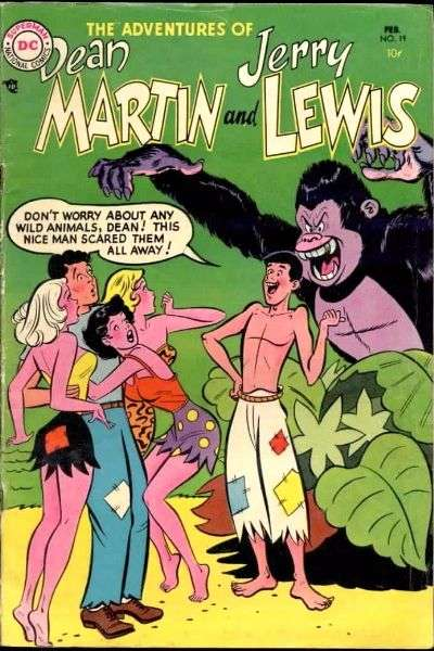Adventures of Dean Martin and Jerry Lewis #19 Comic Books - Covers, Scans, Photos  in Adventures of Dean Martin and Jerry Lewis Comic Books - Covers, Scans, Gallery