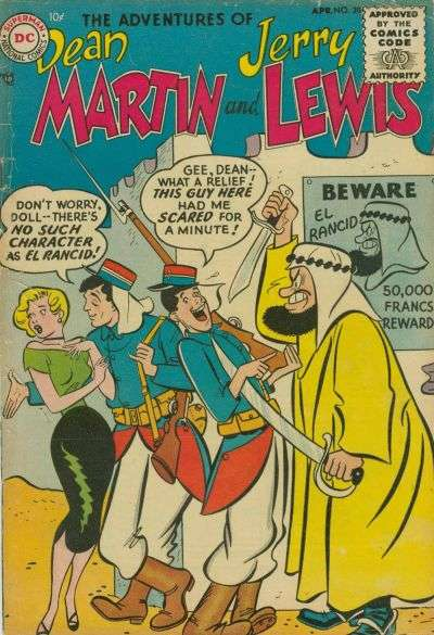 Adventures of Dean Martin and Jerry Lewis #20 Comic Books - Covers, Scans, Photos  in Adventures of Dean Martin and Jerry Lewis Comic Books - Covers, Scans, Gallery