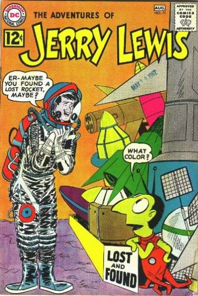 Adventures of Jerry Lewis #71 Comic Books - Covers, Scans, Photos  in Adventures of Jerry Lewis Comic Books - Covers, Scans, Gallery
