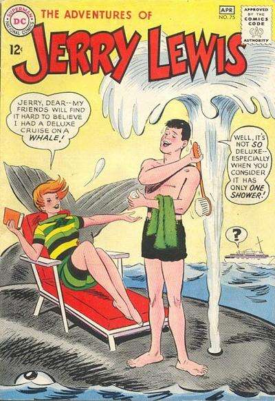 Adventures of Jerry Lewis #75 comic books - cover scans photos Adventures of Jerry Lewis #75 comic books - covers, picture gallery