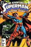 Adventures of Superman #425 comic books - cover scans photos Adventures of Superman #425 comic books - covers, picture gallery