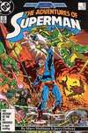 Adventures of Superman #426 comic books - cover scans photos Adventures of Superman #426 comic books - covers, picture gallery
