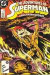 Adventures of Superman #432 comic books - cover scans photos Adventures of Superman #432 comic books - covers, picture gallery