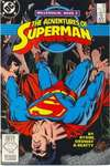 Adventures of Superman #436 comic books - cover scans photos Adventures of Superman #436 comic books - covers, picture gallery