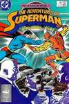 Adventures of Superman #437 comic books - cover scans photos Adventures of Superman #437 comic books - covers, picture gallery