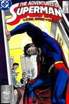 Adventures of Superman #439 Comic Books - Covers, Scans, Photos  in Adventures of Superman Comic Books - Covers, Scans, Gallery
