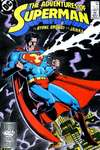 Adventures of Superman #440 comic books - cover scans photos Adventures of Superman #440 comic books - covers, picture gallery