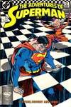 Adventures of Superman #441 comic books - cover scans photos Adventures of Superman #441 comic books - covers, picture gallery