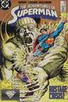 Adventures of Superman #443 comic books - cover scans photos Adventures of Superman #443 comic books - covers, picture gallery