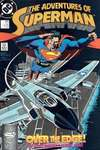 Adventures of Superman #447 comic books - cover scans photos Adventures of Superman #447 comic books - covers, picture gallery