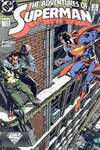 Adventures of Superman #448 comic books - cover scans photos Adventures of Superman #448 comic books - covers, picture gallery