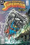 Adventures of Superman #449 comic books - cover scans photos Adventures of Superman #449 comic books - covers, picture gallery