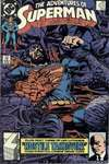 Adventures of Superman #454 comic books - cover scans photos Adventures of Superman #454 comic books - covers, picture gallery