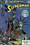 Adventures of Superman #465 comic books - cover scans photos Adventures of Superman #465 comic books - covers, picture gallery