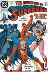 Adventures of Superman #475 comic books - cover scans photos Adventures of Superman #475 comic books - covers, picture gallery