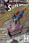 Adventures of Superman #483 comic books - cover scans photos Adventures of Superman #483 comic books - covers, picture gallery