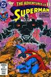 Adventures of Superman #491 comic books - cover scans photos Adventures of Superman #491 comic books - covers, picture gallery