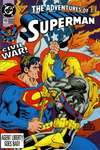 Adventures of Superman #492 Comic Books - Covers, Scans, Photos  in Adventures of Superman Comic Books - Covers, Scans, Gallery