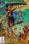 Adventures of Superman #493 comic books - cover scans photos Adventures of Superman #493 comic books - covers, picture gallery