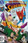 Adventures of Superman #496 comic books - cover scans photos Adventures of Superman #496 comic books - covers, picture gallery