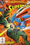 Adventures of Superman #497 comic books - cover scans photos Adventures of Superman #497 comic books - covers, picture gallery