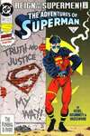 Adventures of Superman #501 comic books - cover scans photos Adventures of Superman #501 comic books - covers, picture gallery