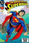 Adventures of Superman #505 comic books - cover scans photos Adventures of Superman #505 comic books - covers, picture gallery