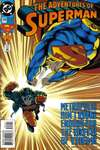 Adventures of Superman #506 comic books - cover scans photos Adventures of Superman #506 comic books - covers, picture gallery