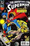 Adventures of Superman #509 comic books - cover scans photos Adventures of Superman #509 comic books - covers, picture gallery