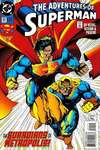 Adventures of Superman #511 comic books - cover scans photos Adventures of Superman #511 comic books - covers, picture gallery