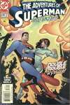 Adventures of Superman #578 comic books - cover scans photos Adventures of Superman #578 comic books - covers, picture gallery