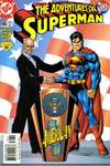 Adventures of Superman #586 comic books - cover scans photos Adventures of Superman #586 comic books - covers, picture gallery