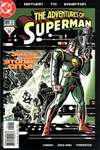 Adventures of Superman #589 comic books - cover scans photos Adventures of Superman #589 comic books - covers, picture gallery