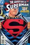 Adventures of Superman #596 comic books - cover scans photos Adventures of Superman #596 comic books - covers, picture gallery